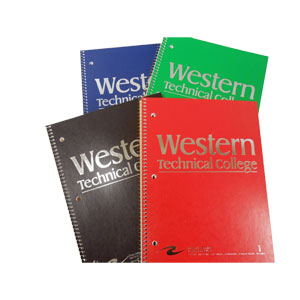Western One Subject Notebook