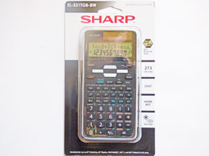 Sharp EL-531 Calculator
